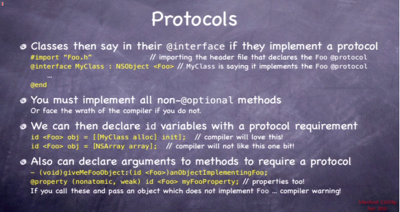 Declaring Protocol Implementers