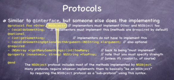 Protocols - Syntax